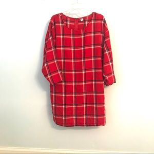 Old Navy Red Plaid Dress 🔥offers welcome